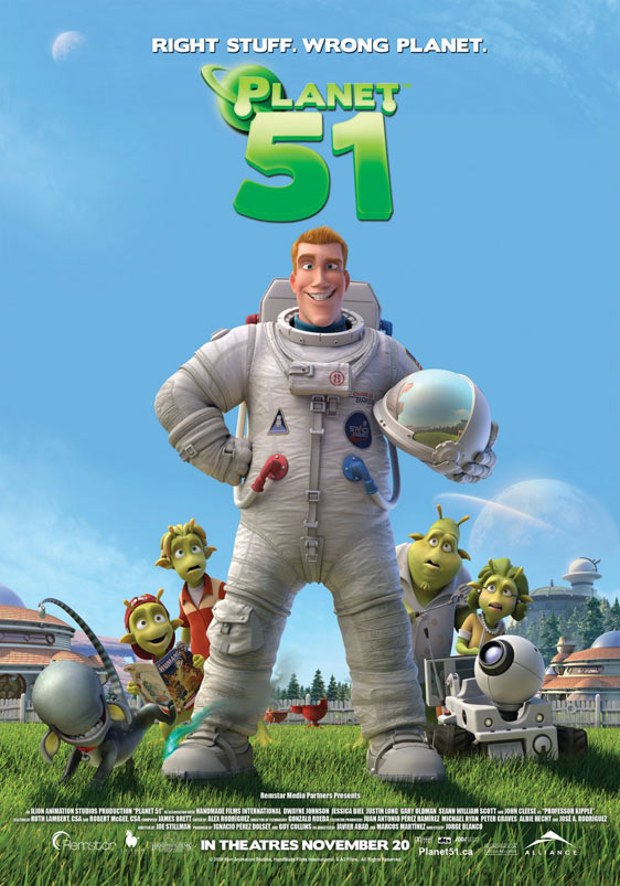 Planet 51 Poster #6
