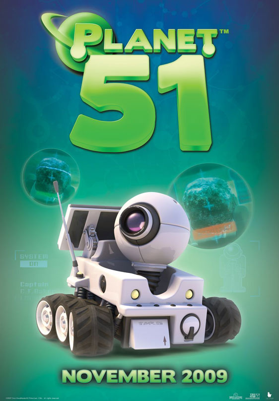 Planet 51 Poster #7