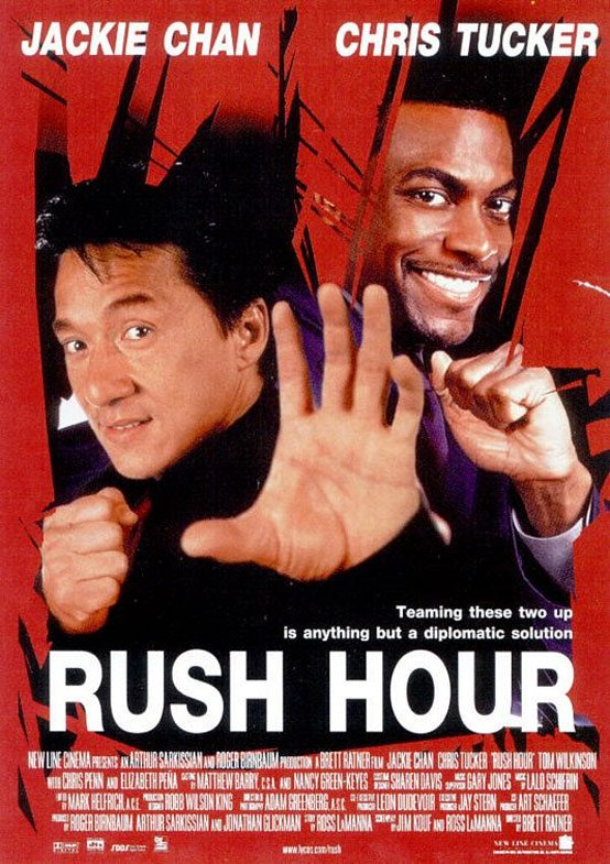Rush Hour Poster #2