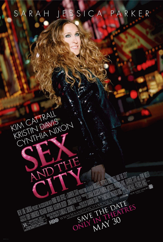 Sex and the City: The Movie Poster #3