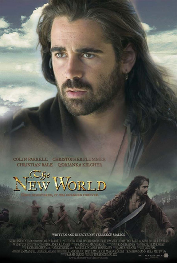 the new world 2005 poster 3 trailer addict
