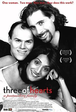 Three of Hearts Poster #1
