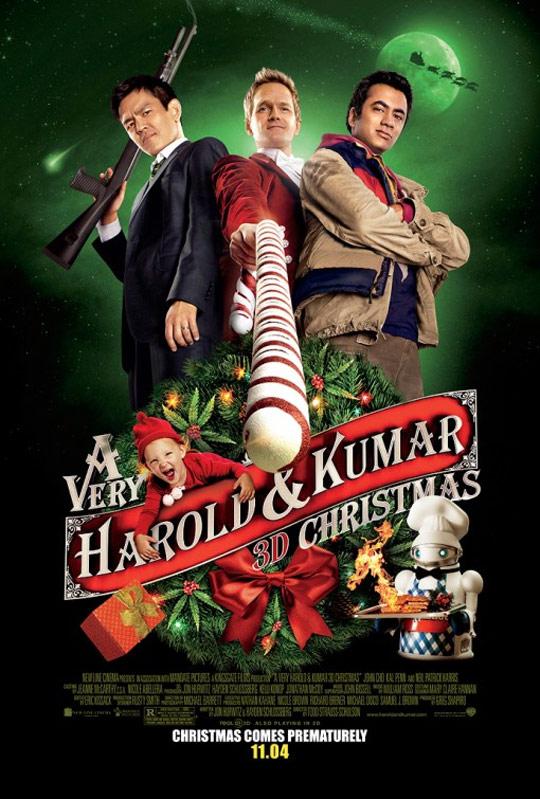 A Very Harold & Kumar Christmas Poster #1
