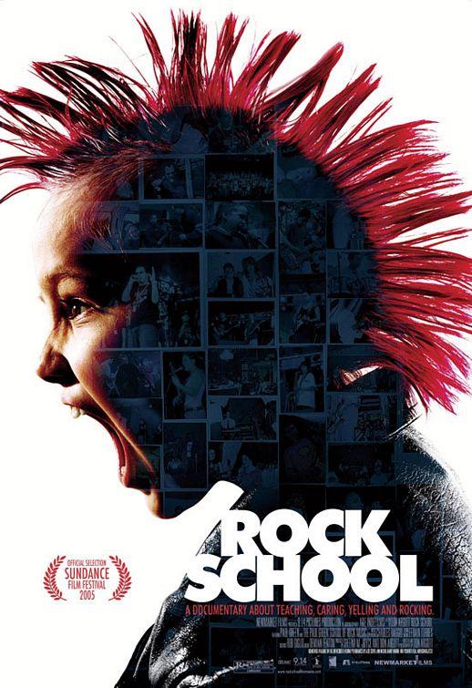 Rock School Poster #1