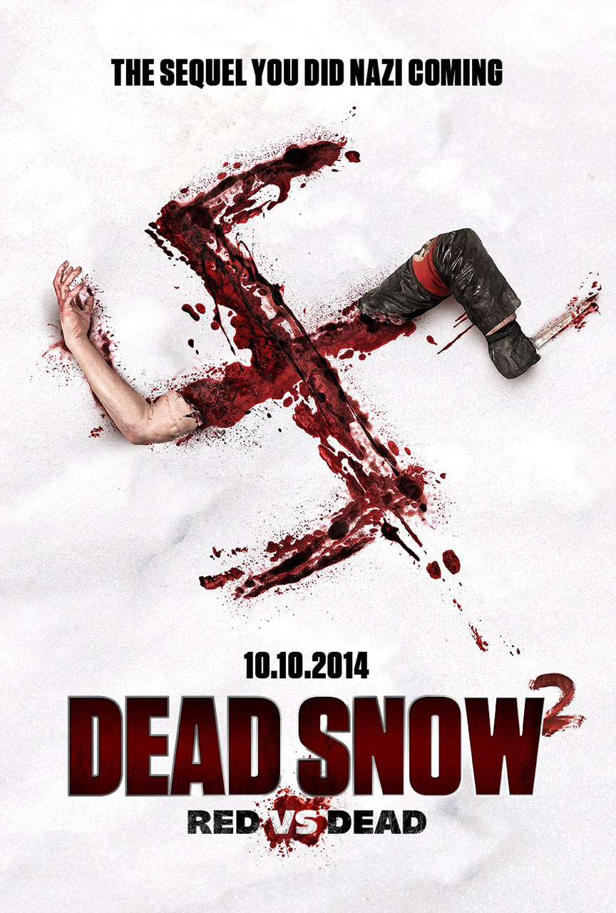 Dead Snow 2: Red vs. Dead Poster #2