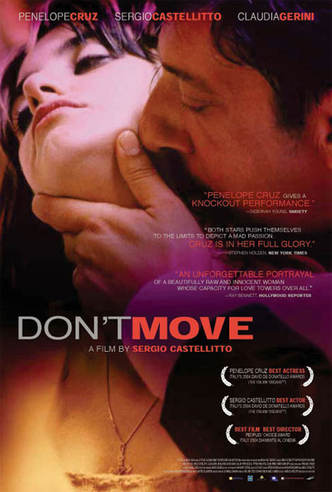 Don't Move Poster #1