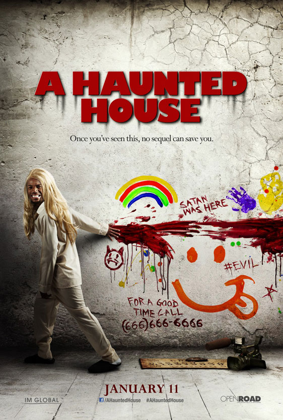 A Haunted House Poster #4