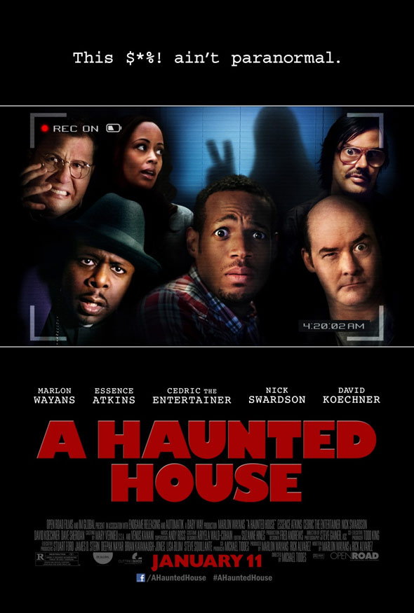 A Haunted House Poster #1
