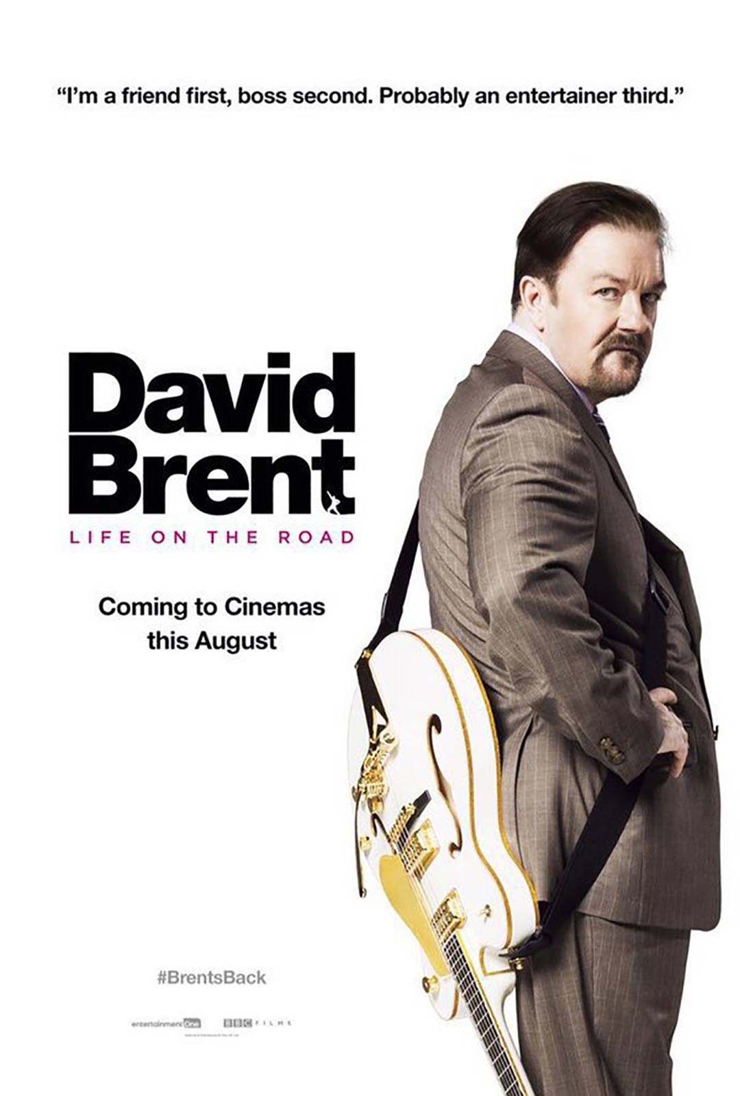 David Brent: Life on the Road Poster #1