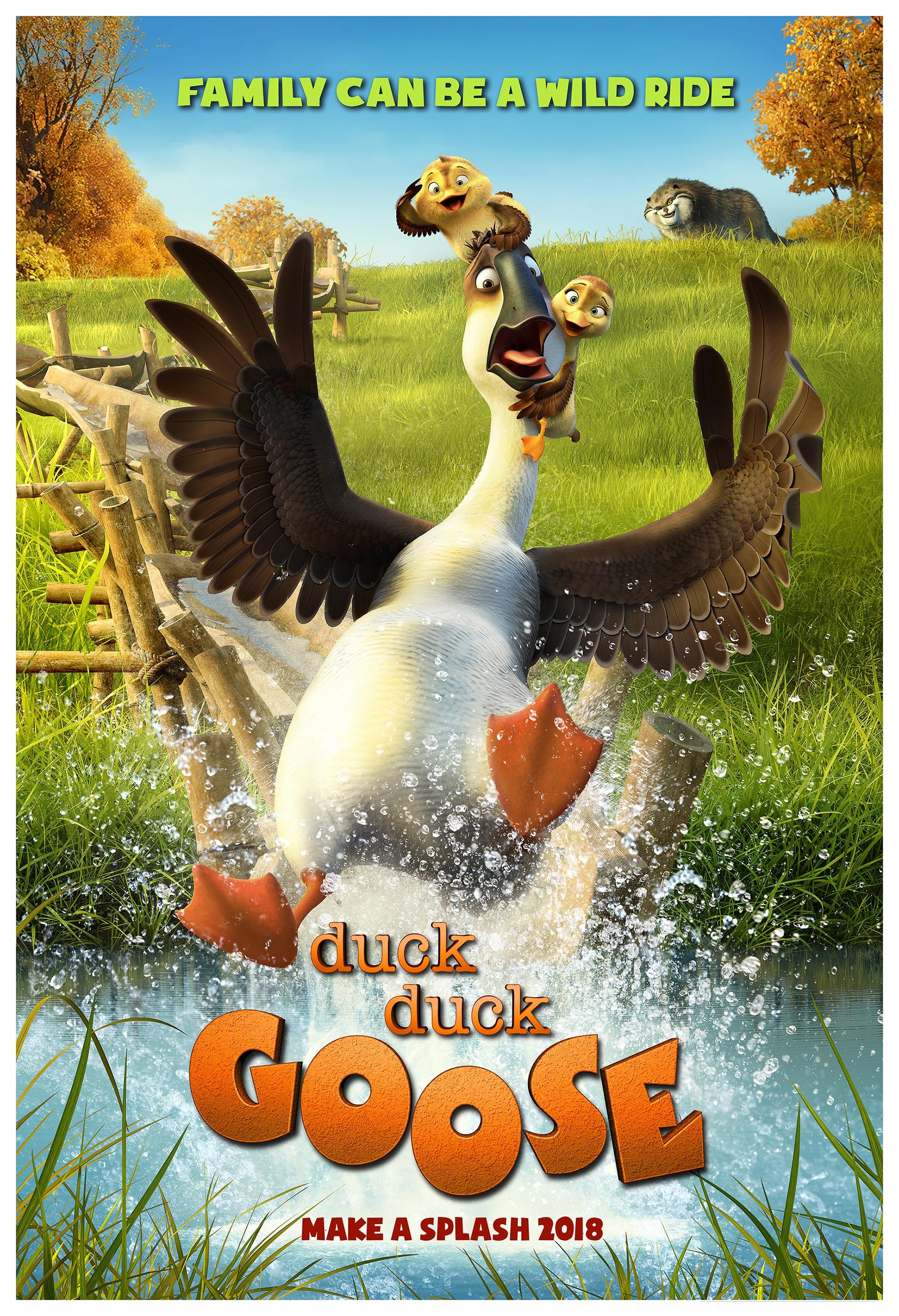 Duck Duck Goose Poster #1