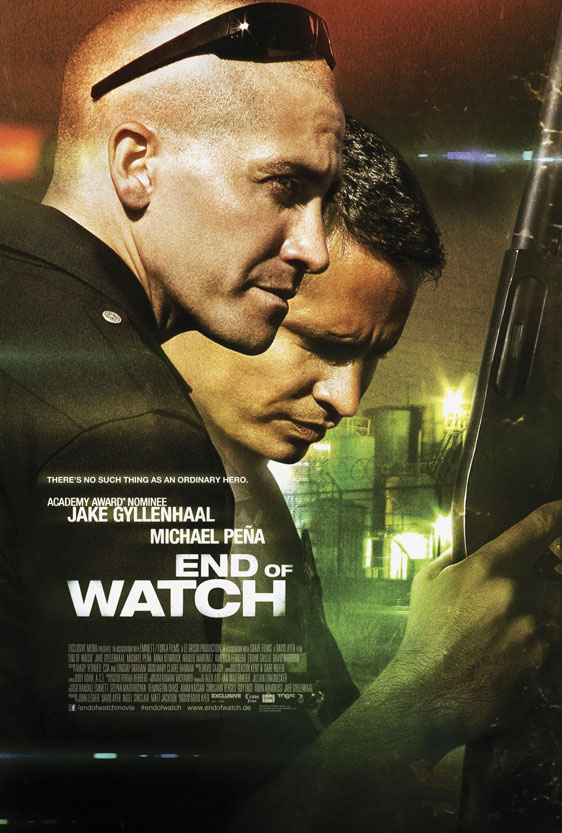End of Watch Poster #3