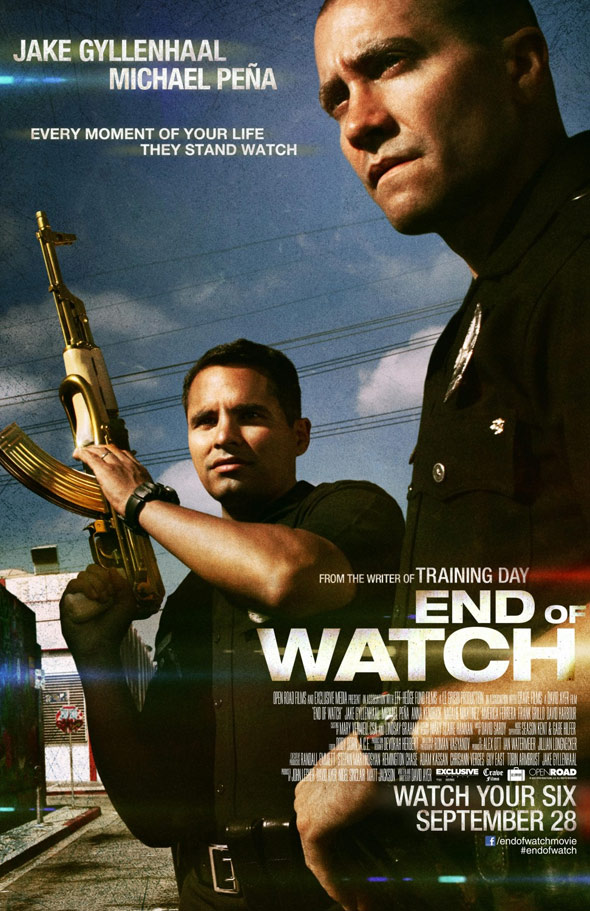 End of Watch Poster #1