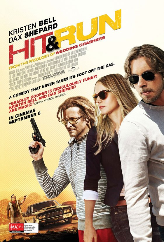 Hit and Run Poster #3