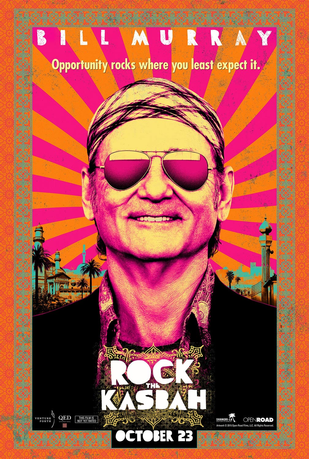 Rock the Kasbah Poster #1
