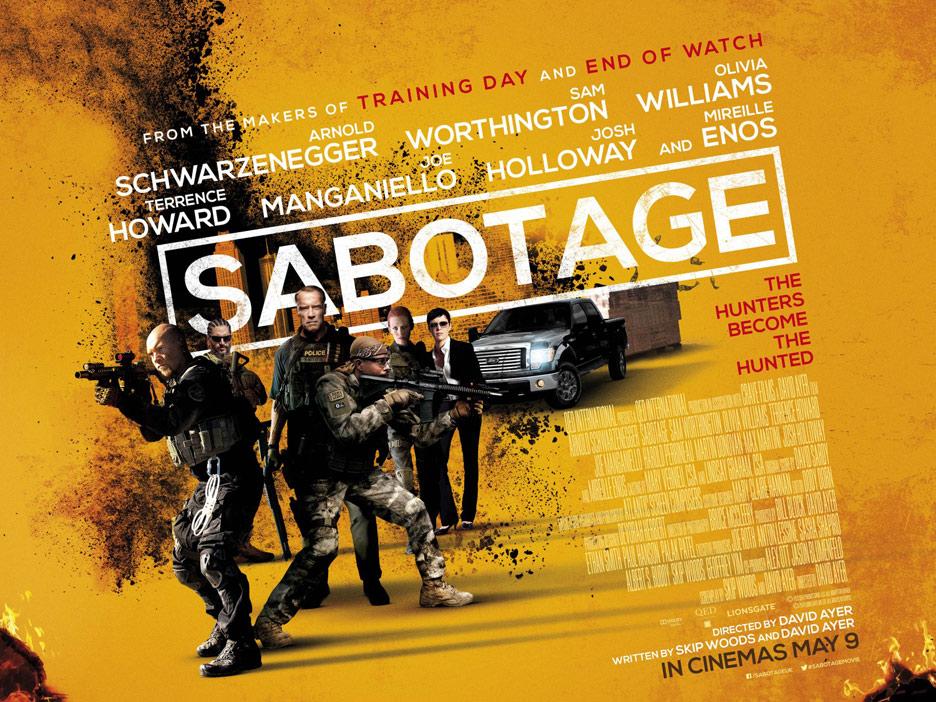 Sabotage Poster #3