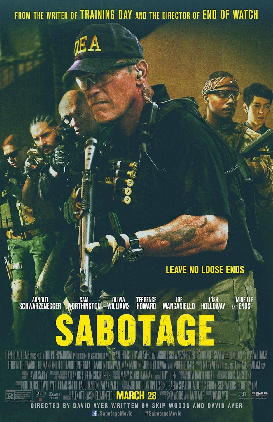 Sabotage Poster #1