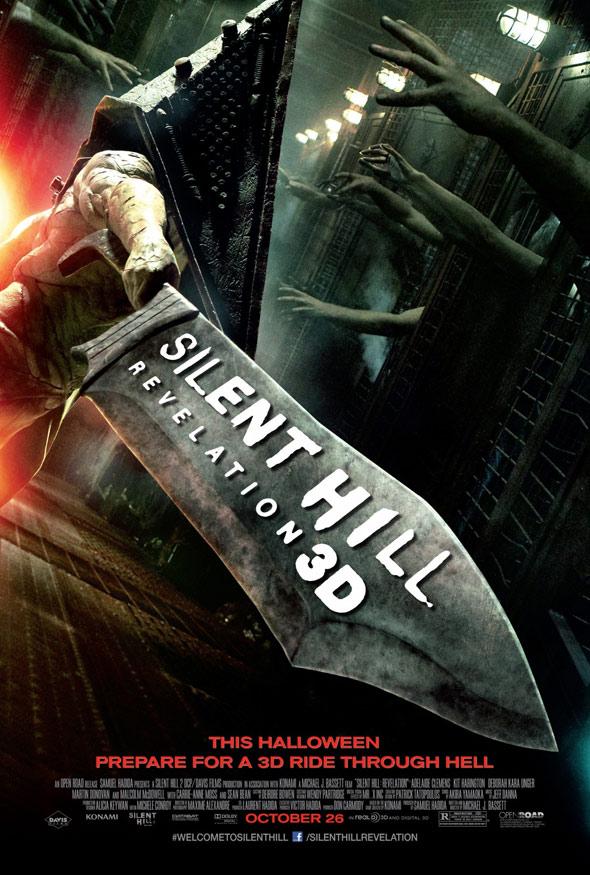 Silent Hill: Revelation 3D Poster #1