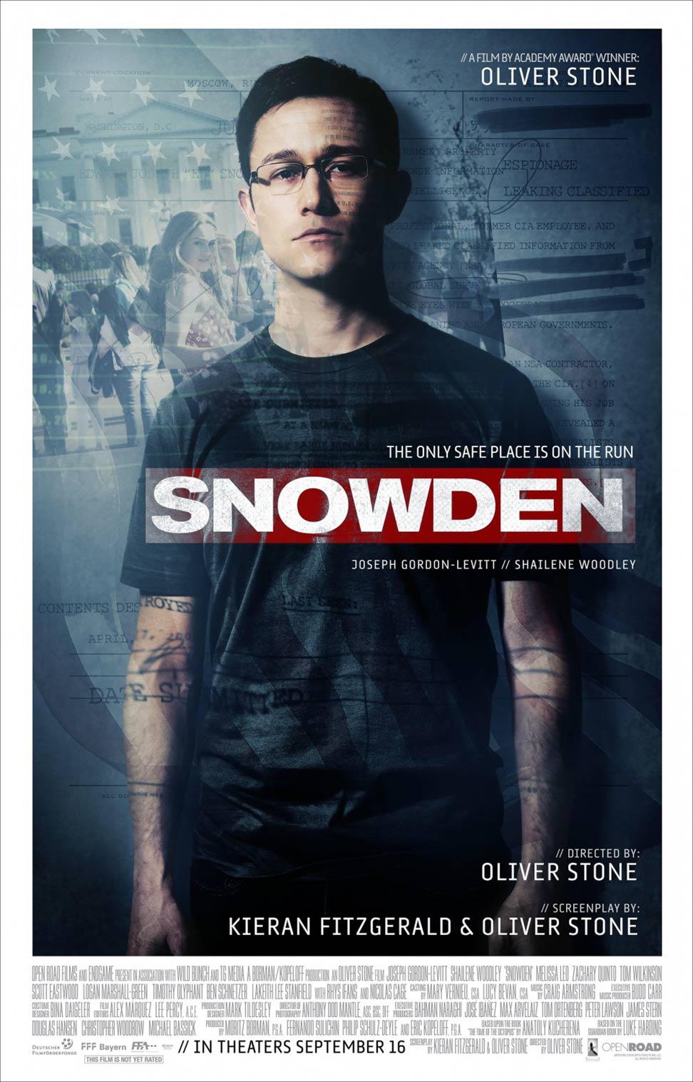 Snowden Poster #2