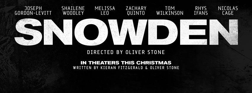 Snowden Poster #1