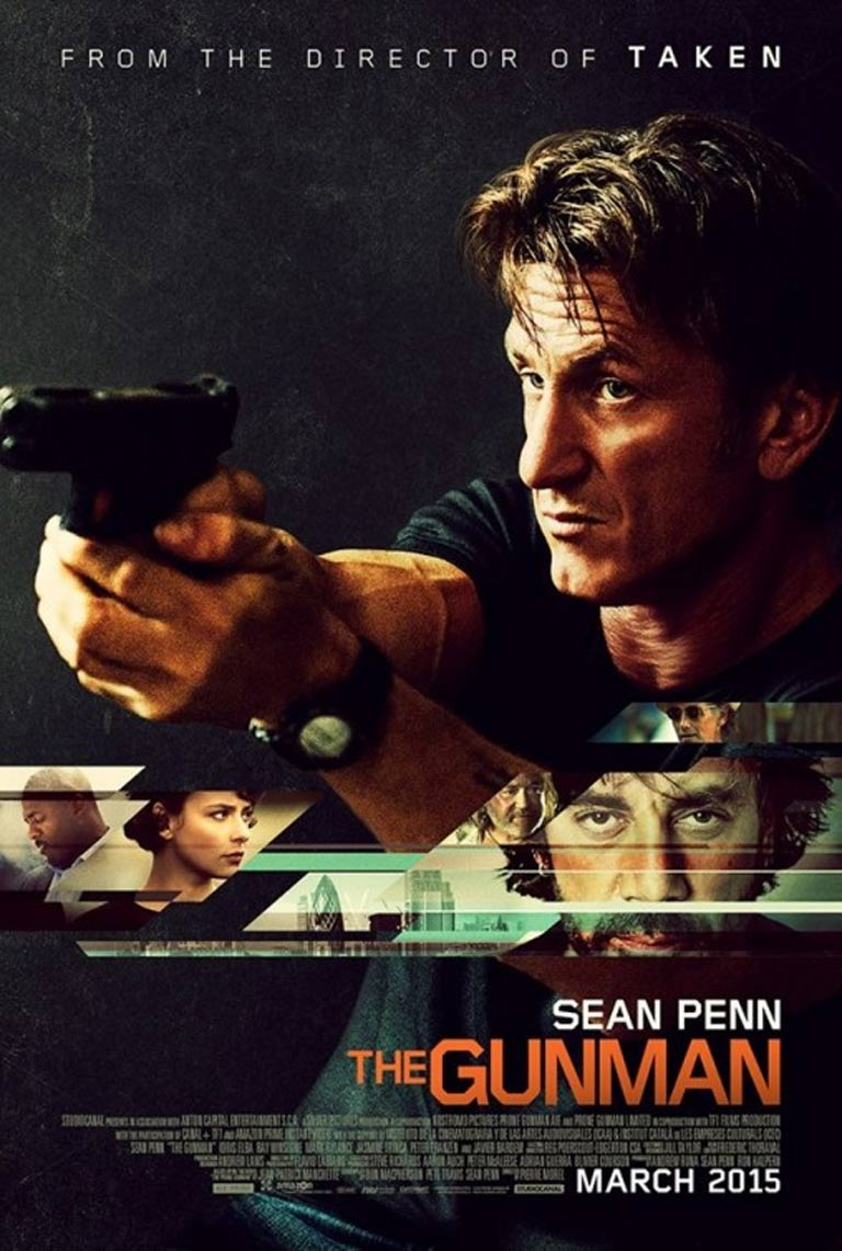 The Gunman Poster #2
