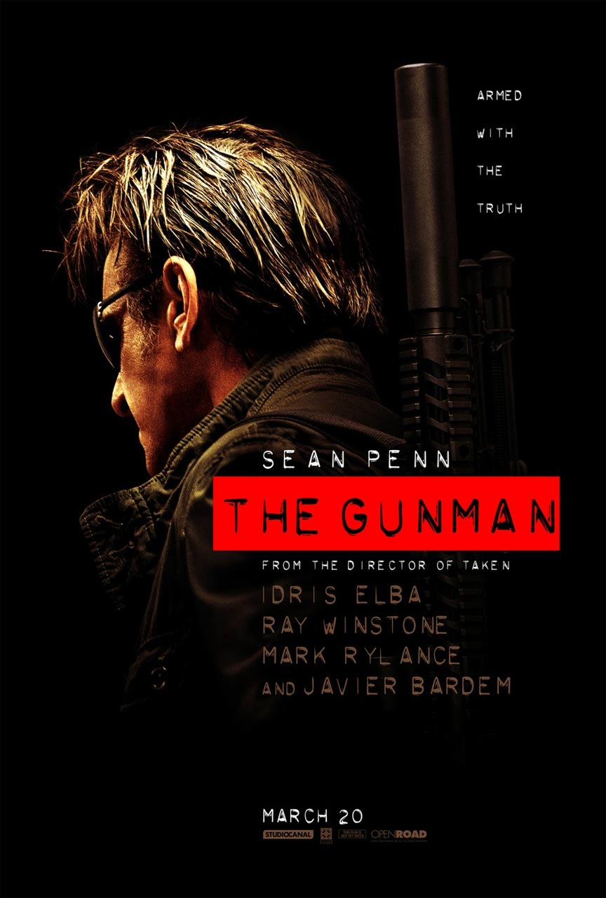 The Gunman Poster #1