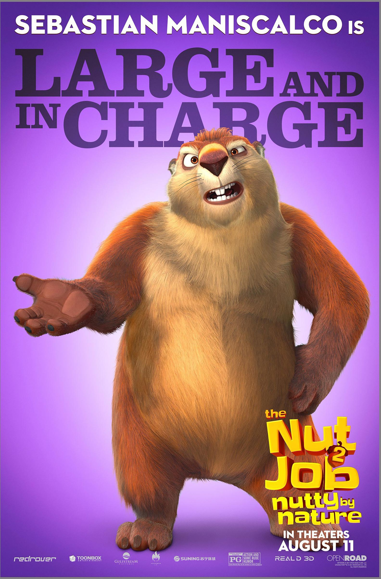 The Nut Job 2: Nutty by Nature Poster #2