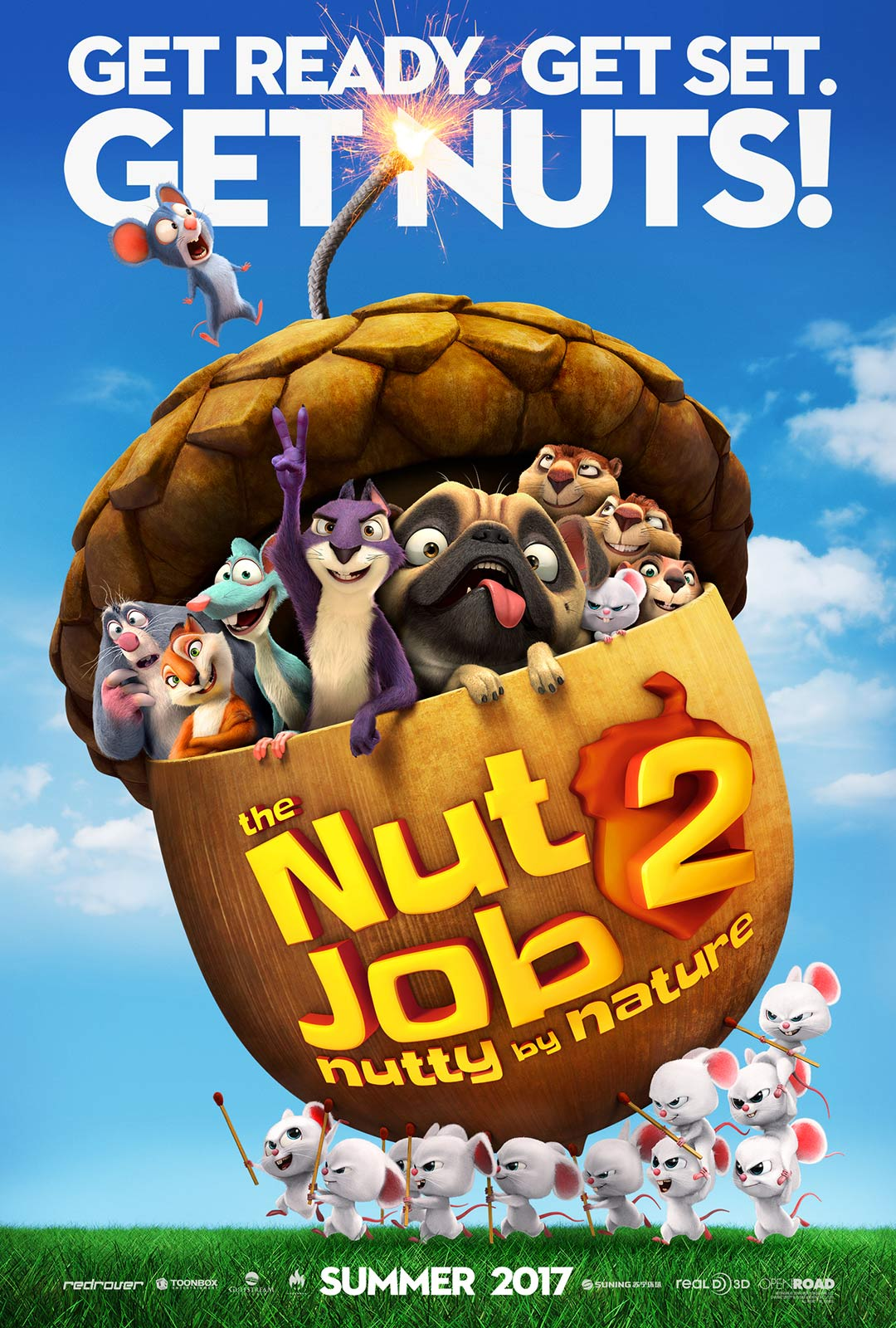 Gang Wiewióra 2 / The Nut Job 2: Nutty by Nature (2017)  [720p][Dubbing PL] (ONLINE)