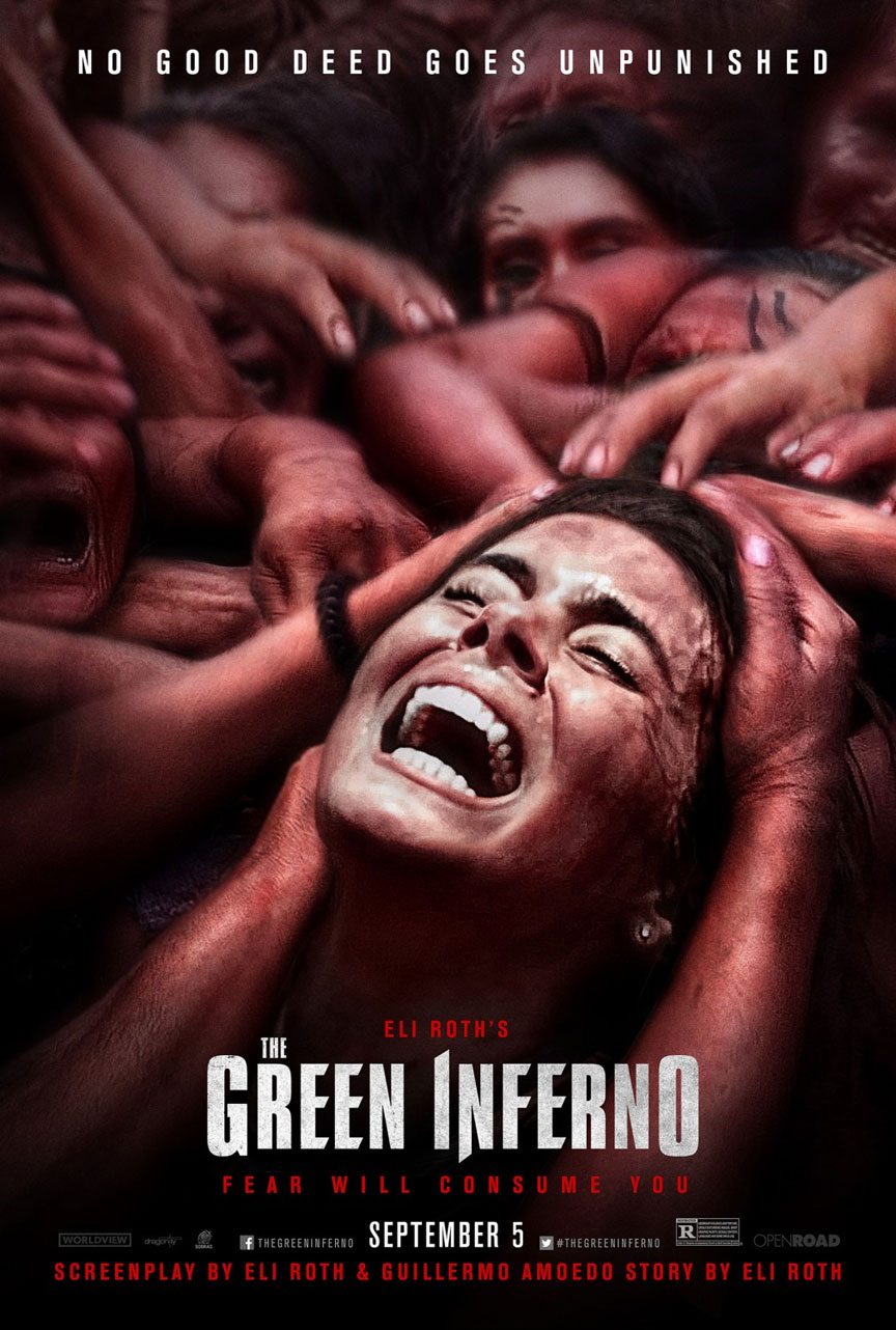 The Green Inferno Poster #1