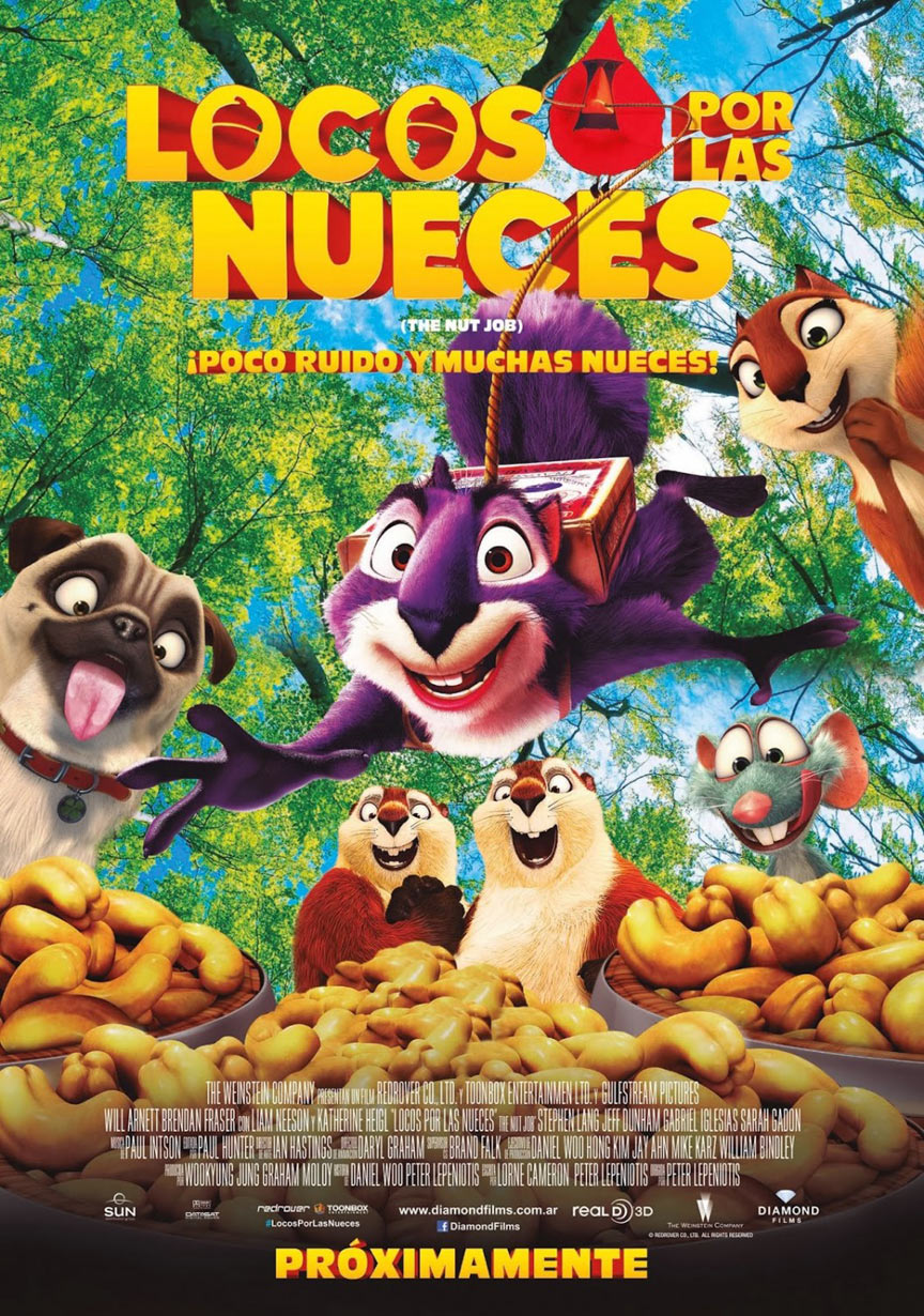 The Nut Job Poster #3
