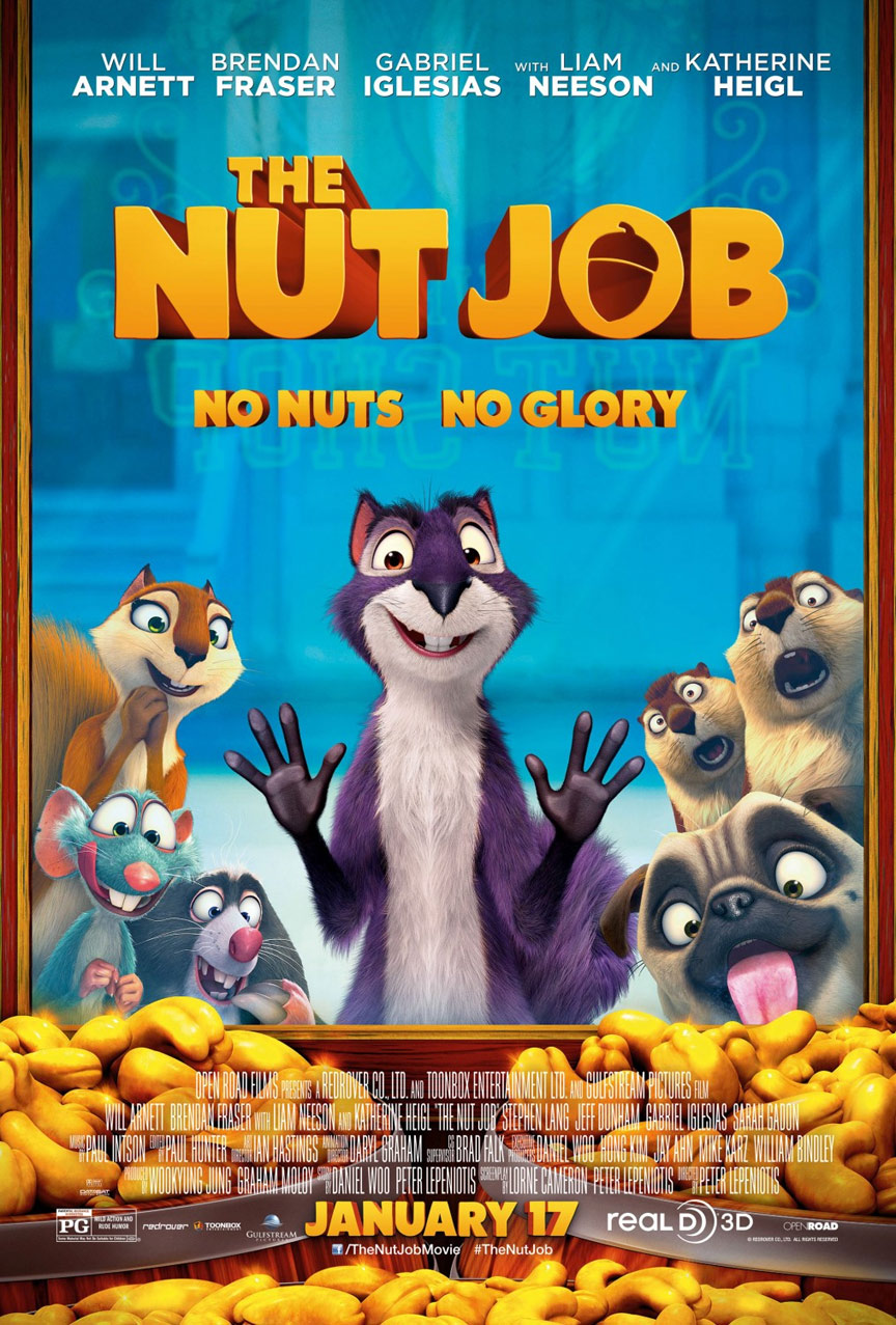 The Nut Job Poster #1