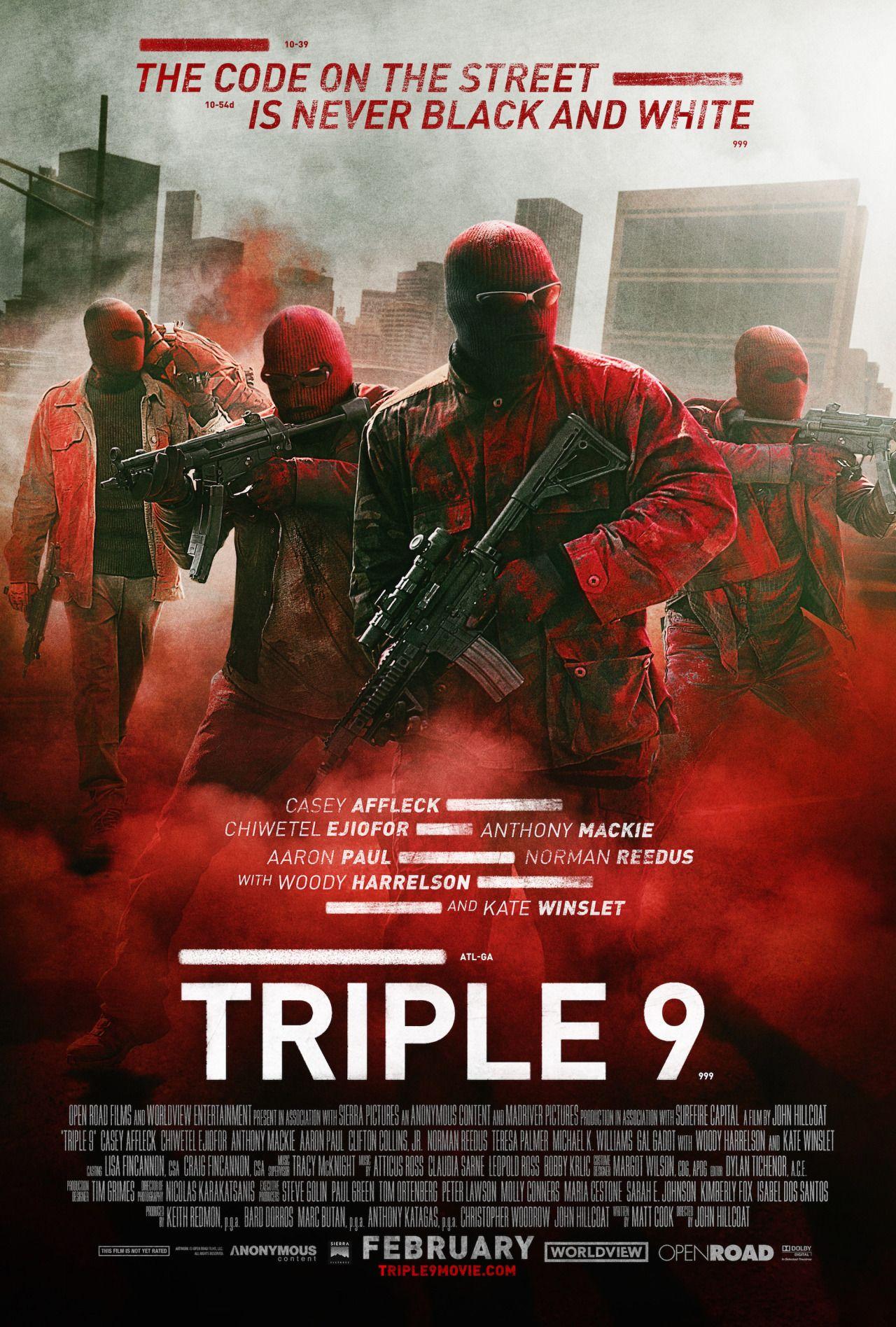 Triple 9 Poster #1