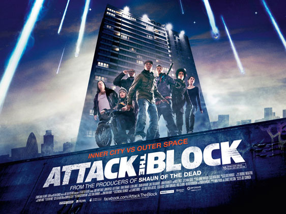 Attack the Block Poster #1