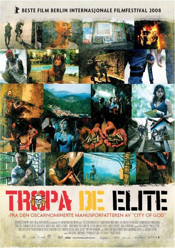 Elite Squad (Tropa De Elite) Poster #2