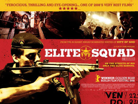 Elite Squad (Tropa De Elite) Poster #3