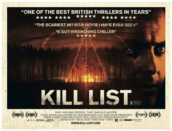 Kill List Poster #1