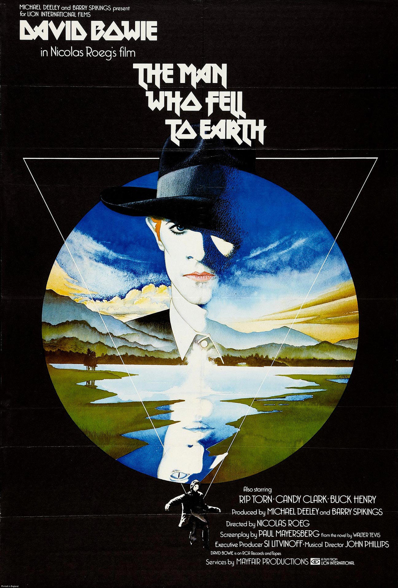 The Man Who Fell to Earth Poster #2