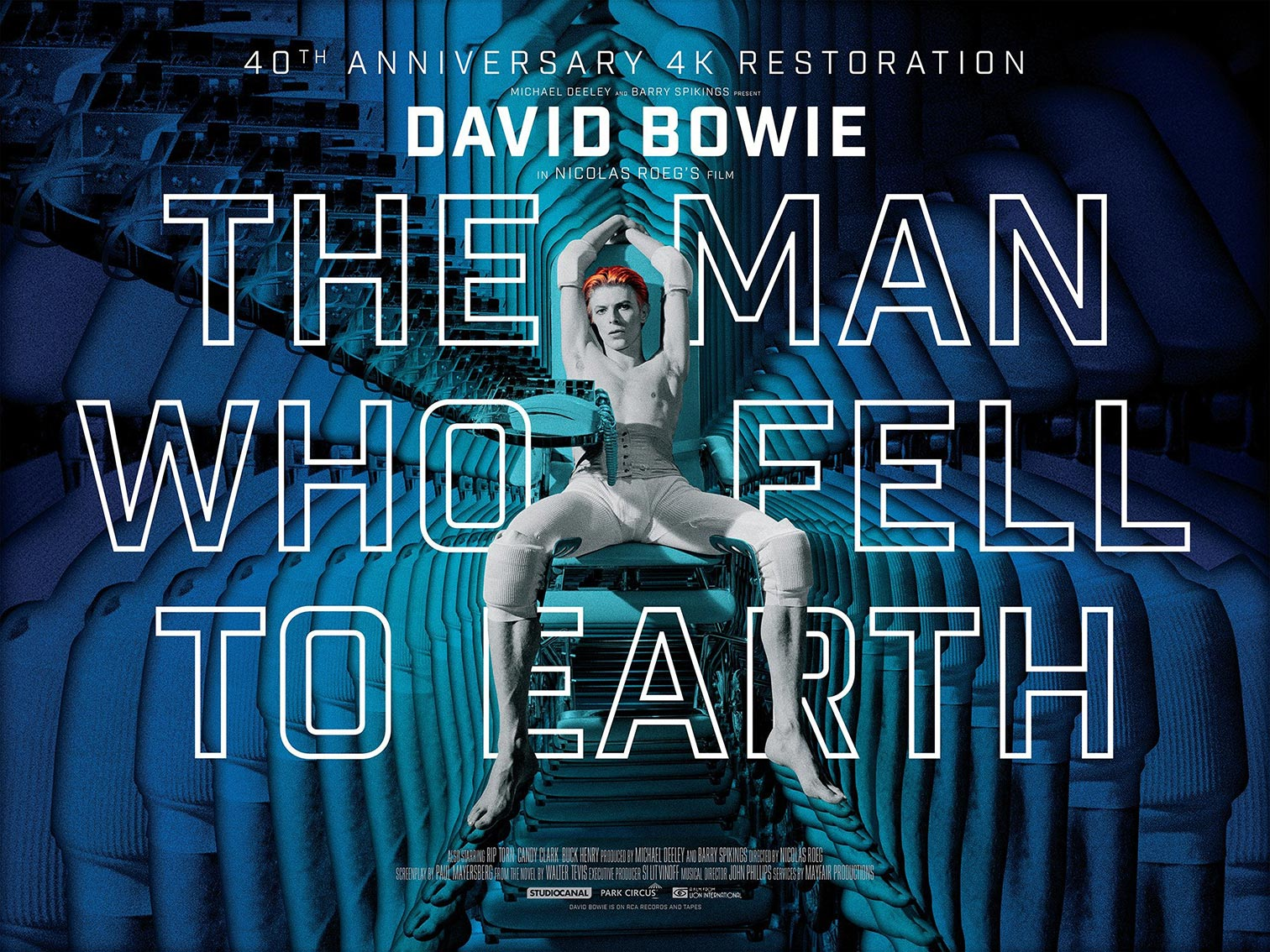 The Man Who Fell to Earth Poster #3