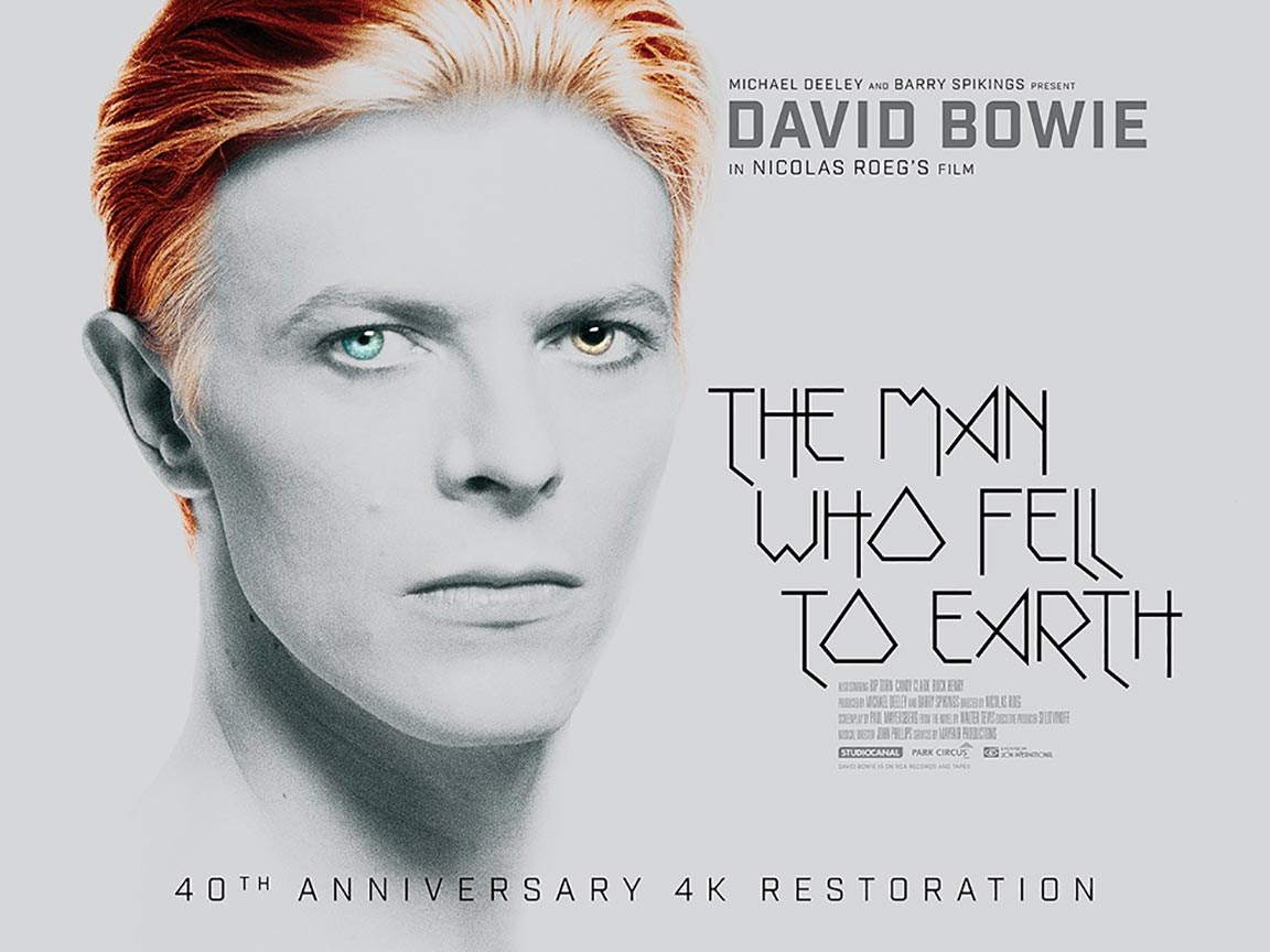 The Man Who Fell to Earth Poster #1