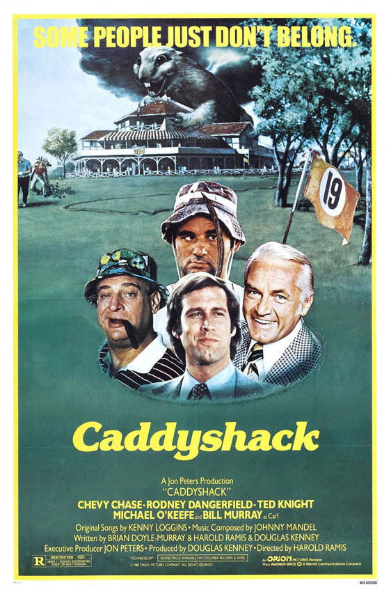 Caddyshack Poster #1