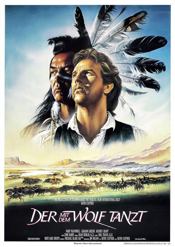 Dances With Wolves Poster #3