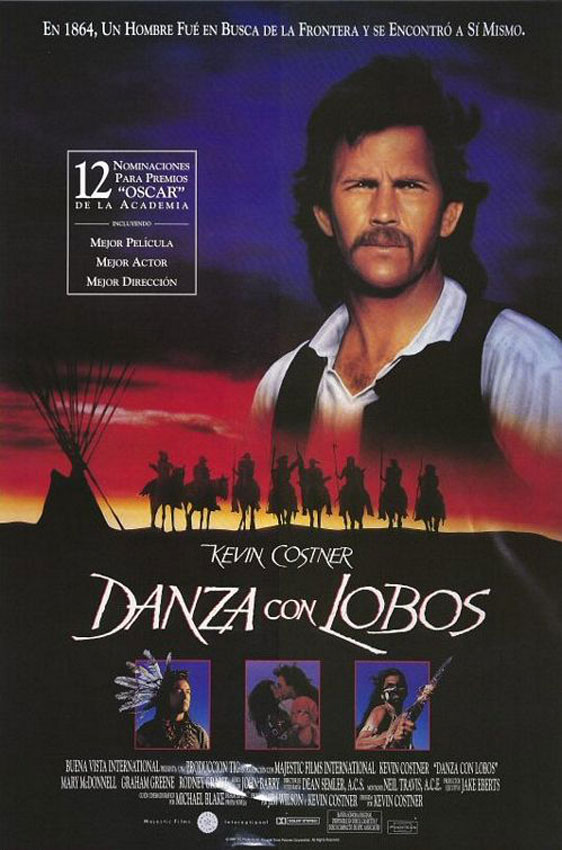 Dances With Wolves Poster #6