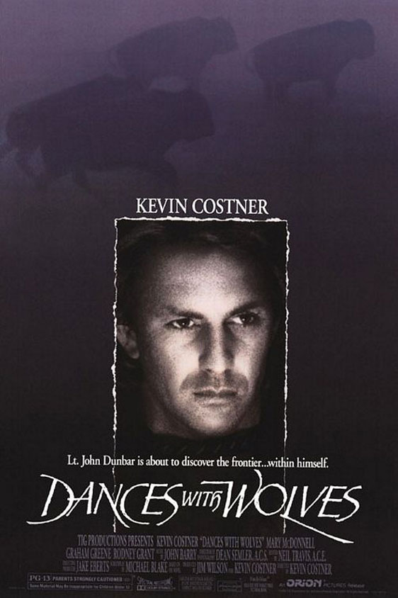 Dances With Wolves Poster #1