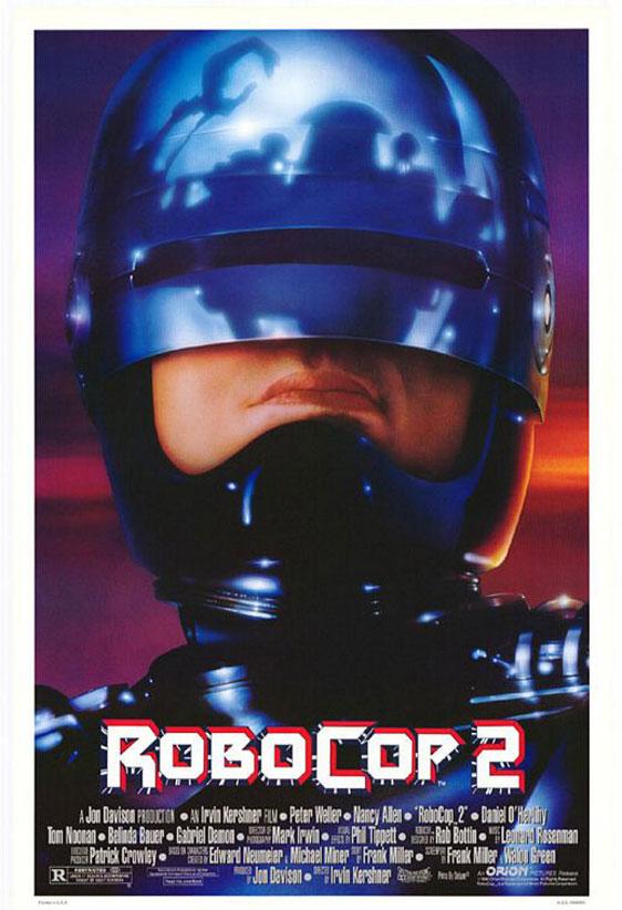 RoboCop 2 Poster #1