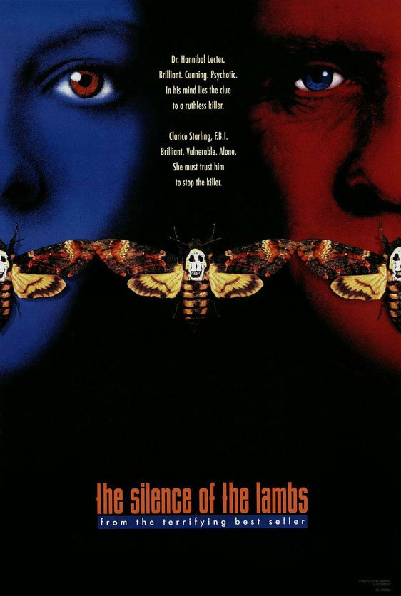 The Silence of the Lambs Poster #3