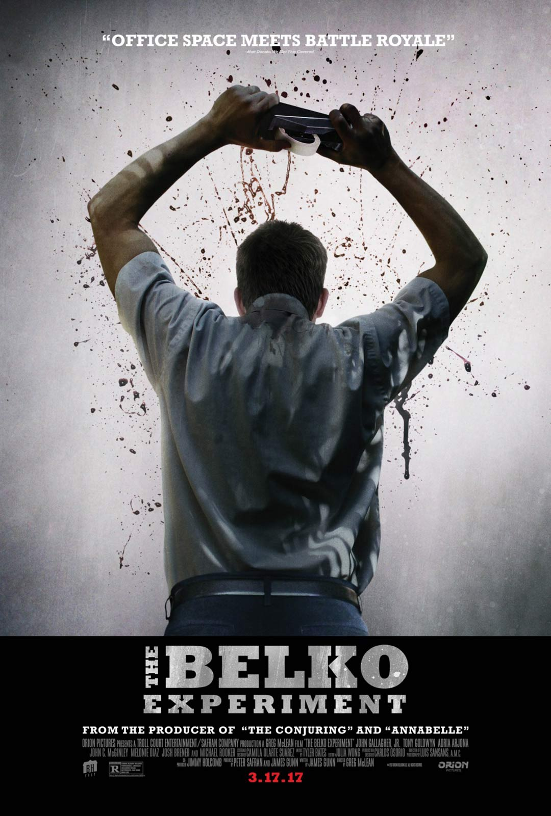 The Belko Experiment Poster #1