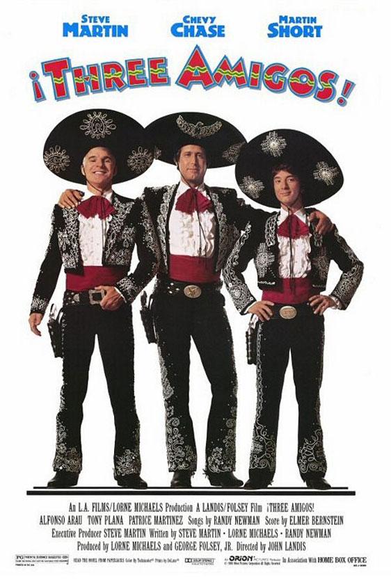 Three Amigos! Poster #1