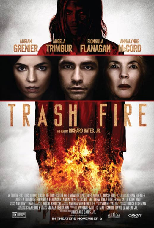 Trash Fire Poster #1