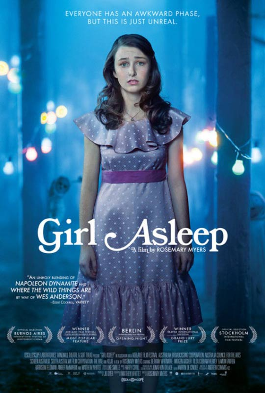 Girl Asleep Poster #2