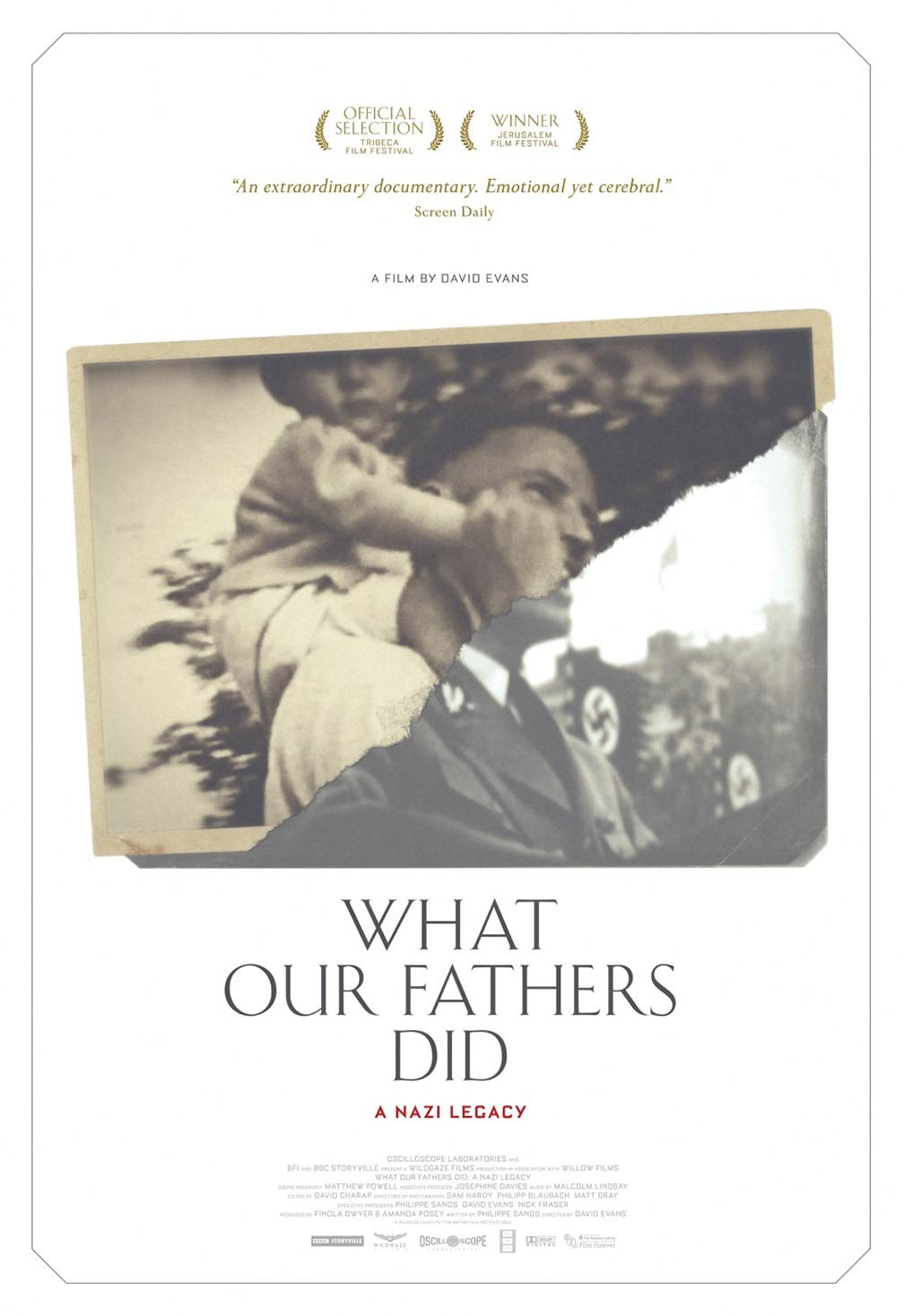 What Our Fathers Did: A Nazi Legacy Poster #1