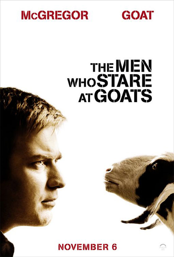 The Men Who Stare at Goats Poster #4